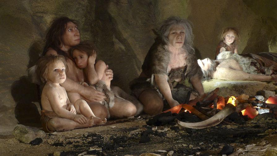 Благотворительная помощь у неандертальцев