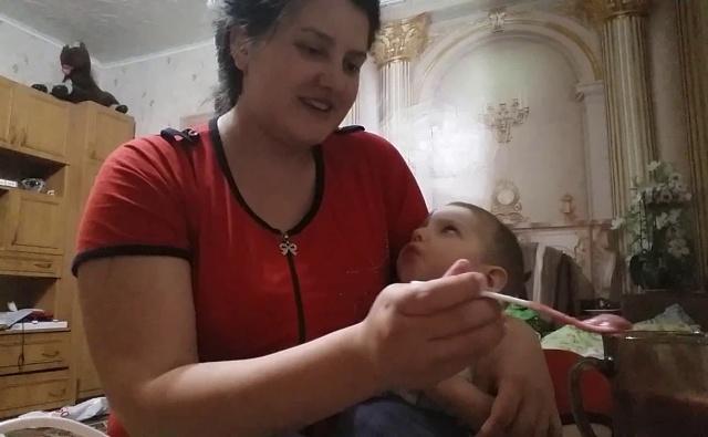 кормление ребенка с дцп